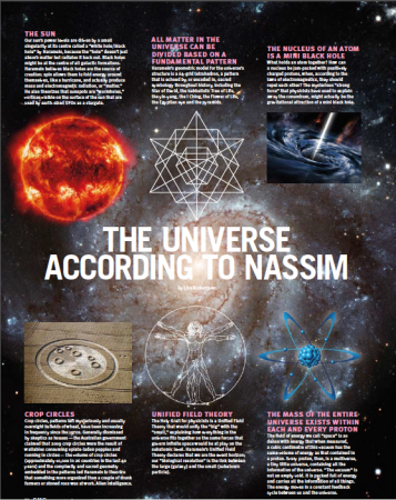 The Universe According to Nassim