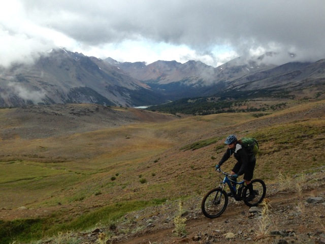 The seat is not for sitting in, Chilcotins, BC