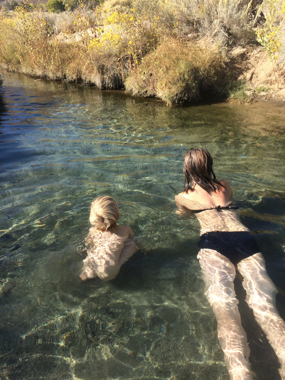 natural hotsprings or road trip ablutions part 1