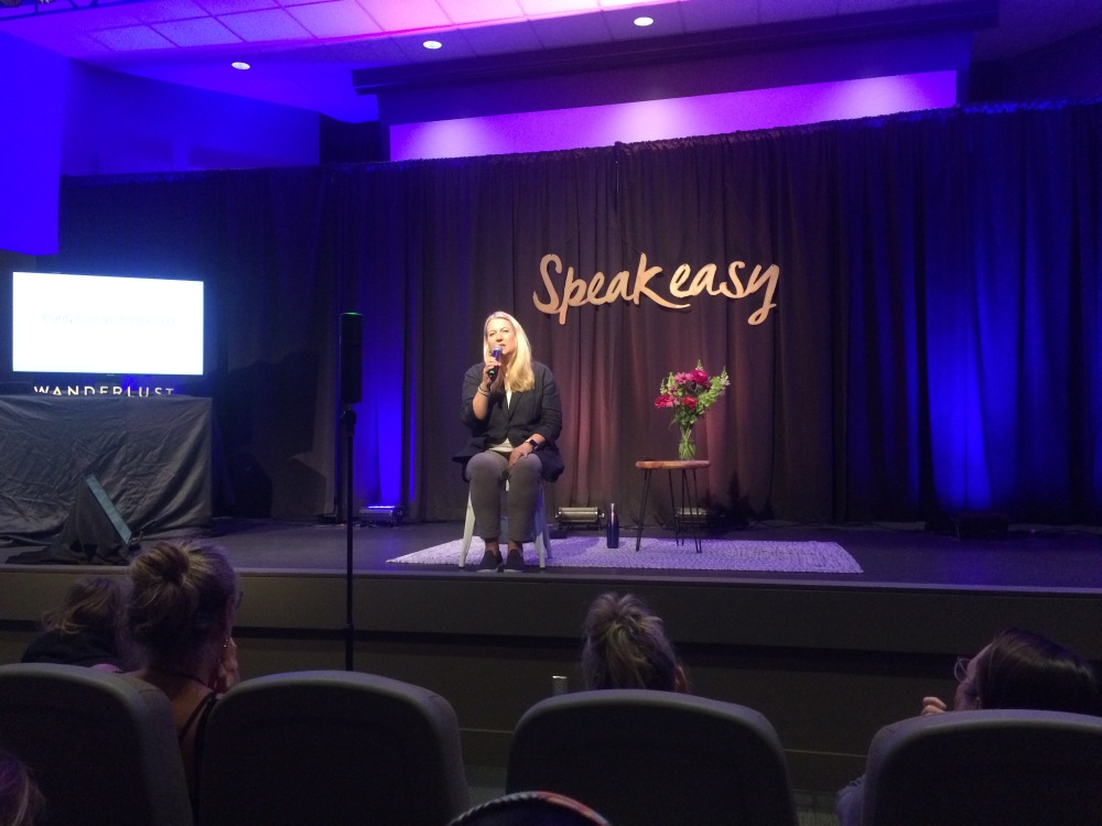 Cheryl Strayed at Wanderlust Whistler August 2019